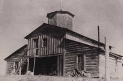 Norris blockhouse, built in 1879, razed in 1909 Photo