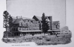 National Hotel, Mammoth Hot Springs Photo