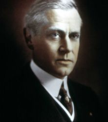 Portrait of Stephen Mather, 1913 Assistant Secretary of the Interior, 1916 first National Park Service Director (NPS established 8/25/1916) Photo