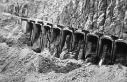 Golden Gate Bridge reinforcement & widening, Yellowstone National Park Photo