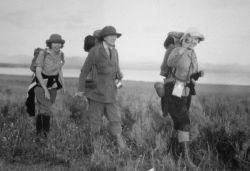 Three hikers Photo