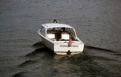 National Park Service boat patrol Photo