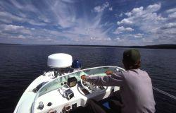 Yellowstone Lake boat patrol Photo