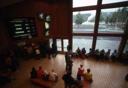 Old Faithful visitor center interior Photo