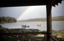 Fishing Bridge fish dock Photo