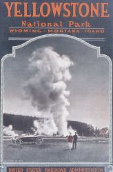 Cover of the United States Railroad Administration brochure