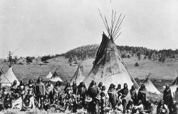Washakie & his warriors - History - Indians Photo