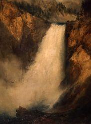 Lower Falls of Yellowstone - YELL 8518 Photo