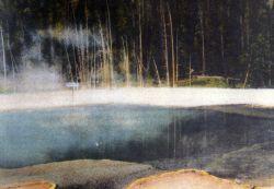 Postcard of Emerald Pool Photo