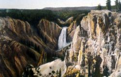 Postcard of the Lower Falls Photo