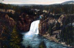 Postcard of the Upper Falls Photo