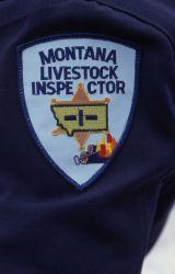 Montana Livestock Inspector patch Photo