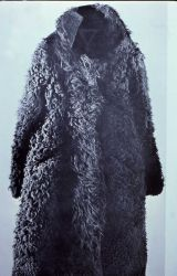 Photograph of bison hide coat Photo