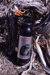 Pepper spray - Grizzly bear Photo