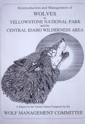 Reintroduction of wolves in Yellowstone National Park & Central Idaho Photo