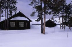 Lake Lodge in the winter Photo