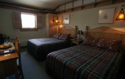 Interior of a room at Old Faithful Snow Lodge Photo