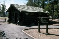 Yellowstone Association bookstore at Norris Geyser Basin Photo