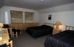 Interior of a room at Cascade Lodge in Canyon Village Photo