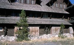 Old Faithful Inn closed for the season Photo