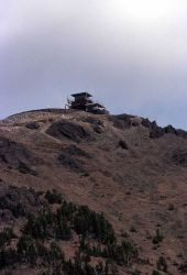 Mt Washburn fire lookout Photo