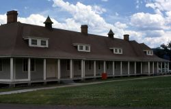 Cavalry Barracks at Fort Yellowstone Photo