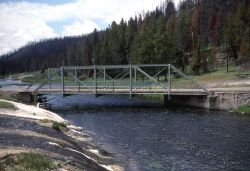 Upper Fountain Freight Road over the Firehole River Photo
