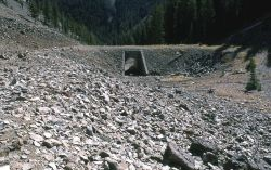 Cork Screw Bridge east of Sylvan Pass Photo