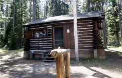 Trail creek patrol cabin Photo