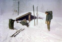 Shoshone patrol cabin Photo