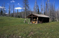 Cache Creek patrol cabin Photo