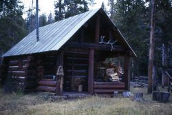Lower Miller Creek patrol cabin Photo