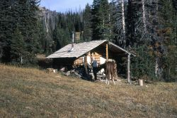 Fawn Pass patrol cabin Photo
