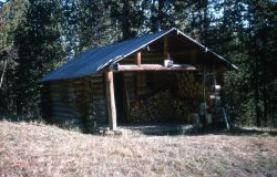 Fern Lake patrol cabin Photo