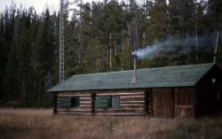 Fox Creek patrol cabin Photo