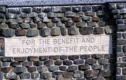 Inscription on the Roosevelt Arch,
