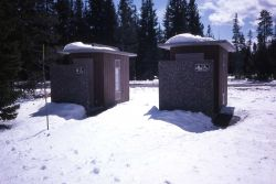 Outhouses Photo