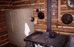 Interior of the Museum of the National Park Ranger (old Norris soldier station) Photo