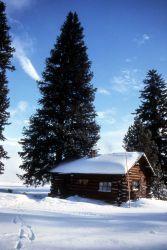 West Thumb warming hut Photo