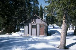 Indian Creek warming hut Photo