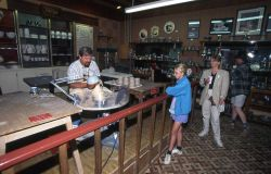 Carl Sheehan, potter, Old Faithful Lodge Photo