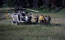 A rescue at Pabble Creek campground near the Thunderer Image