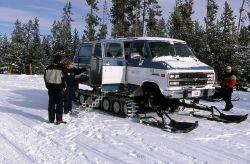Yellowstone Association/concessioner Winter Wonderland snowcoach Photo