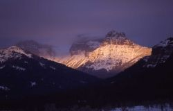 Ampitheater Mountain as seen from Soda Butte Image