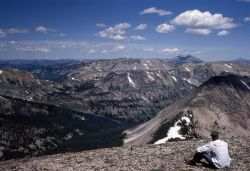 View looking north from Mt Holmes Photo