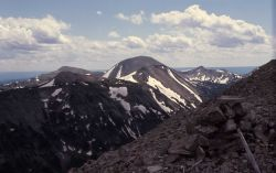 Antler Peak looking toward Mt Holmes Image