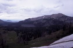 View from Bighorn Pass Photo