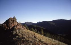A ridge in the Gallatin Mountains Image