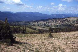 Tetons as seen from Big Game ridge Photo