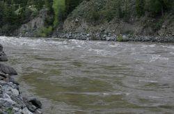 Yellowstone River in Yankee Jim Canyon, north of Gardiner, MT Photo